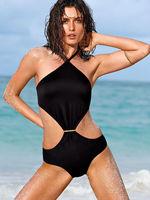 2014 new push up one piece swimsuit black design 3138 brand women swimwear brazilian for bathing swim suit beach wear