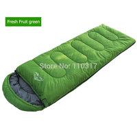 1.5KG Thickening Waterproof  Single Envelope Type Adult Sleeping Bag Outdoor Survival Trekking garden S0039,free shipping
