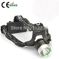 Free shipping CREE XM-L XML T6 LED 1800LM 3 Mode Headlamp Headlight Flashlight Light Head Lamp Flashlight