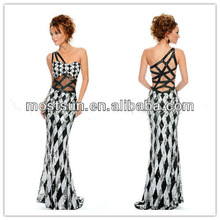 black and white prom dress promotion