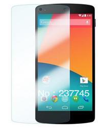 100 unidades de premium hd clear lcd filme protetor de tela capa proteção para lg google nexus 5, frete grátis(China (Mainland))