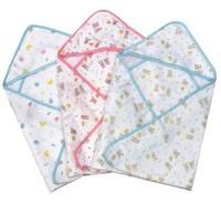 100% cotton newborn animal pattern wrapped blanket,70 * 70cm bath towels  multi newborn blankets,baby blankets (0-3 months)
