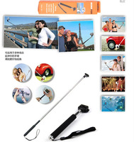 Extendable Handheld Monopod Camera Holder Wand for Sport Camera Video Camera Digital Camera Self Photo