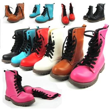 [해외]새로운 2014 년 발목 부츠 여성 플랫폼 부츠 여성 여성 신발 ..
