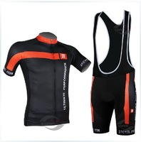2014 new black scorpion short strap suit perspiration breathable cycling jersey bike clothing