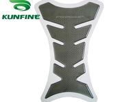 Free Shipping Motorcycle Carbon Fiber Tank Pad TankPad Sticker Protector Black KF-MC100