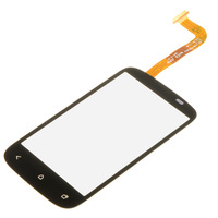 Black Touch Screen Digitizer Glass Lens Panel For HTC Desire C NFC Golf A320e B0151 P