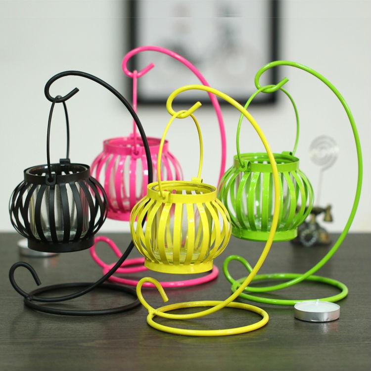 Popular hanging tealight lanterns buy cheap hanging - Creative craft work from home ...