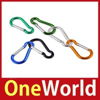 OneWorld 2 X Aluminium Carabiner Camping Hiking Hook Keychain L Save up to 50%