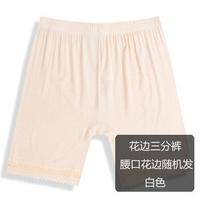 2PCS\LOT Lace security trousers ms render pants Lace plus-size three pants