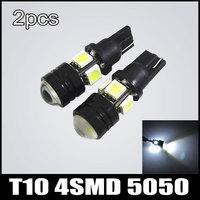Free Shipping T10 8SMD 5050 W5W LED Rear Brake Light Side Wedge Light Turn Signal Lamp 2pcs/lot