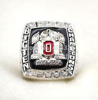 free shipping replica rhodium plated 2008 big ten  ohio state buckeyes NCAA world series championship ring