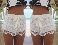 2014 Free shipping Geometric Lace fine fashion with casual shorts.  TB 6261