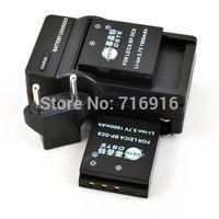 DSTE 2pcs 1900mAh BP-DC8 BPDC8 DC8 Li-on Battery + DC29 Charger For LEICA X1 X2