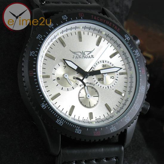 New Luxury Mens Man Multi Function Calendar Leather Strap Wrist Watch Fashion(China (Mainland))
