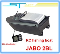 2pcs/lot JABO 2BL Remote Control Bait Boat Fish Finder upgade JABO 2BS 20A Lipo Battery Newest Eiditon Jabo RC fishin helikopter
