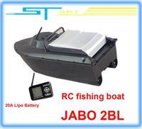 2pcs/lot JABO 2BL Remote Control Bait Boat Fish Finder upgade JABO 2BS 20A Lipo Battery Newest Eiditon Jabo RC fishing boat