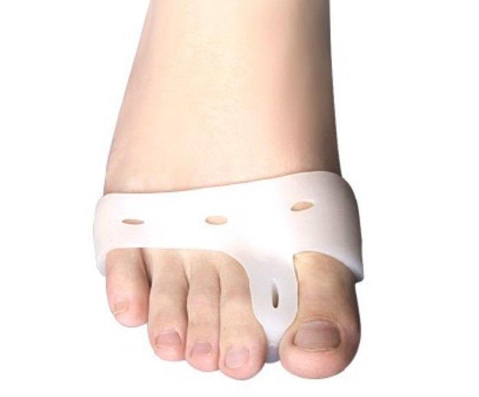 2014 nuovo arrivo, gel di silicone dita del piede separatore& pollice valgo protettore& bunion di regolazione, alto qulity strumento di cura dei piedi