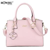 Love howru 2014 candy color handbag one shoulder women's handbag