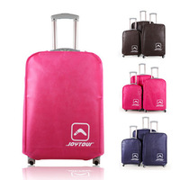 """HQ Luggage Cover Nonwoven Waterproof Dustproof Scratch Resistant Luggage Case Protector Suitcase Cover Rose Blue Coffee Size 30"""""""