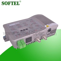 Support remote network management 1GHz Optic node, optical receiver with Built-in power supply