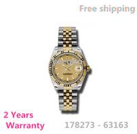 Men self-wind watch 178273-63163 stainless steel strap 2836 movement wristwatches 18k gold relogio masculino