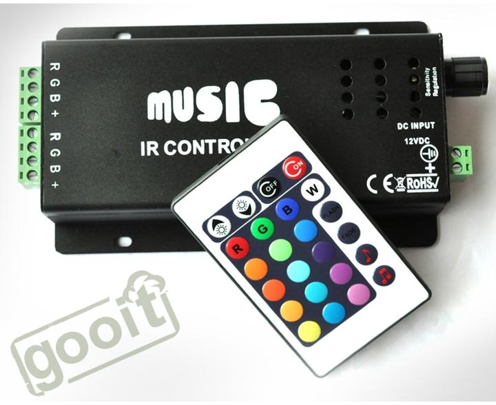 RGB контролер OEM RGB RGB IR Remote rgb контролер tendtronic 110v 220v multi 8 ad 2003