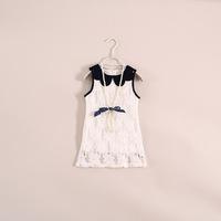 2014 New Arrival Vestido Wholesale Baby Girls /kids Dresses. Channeling Bead Vest Dress Children's Clothing . 5pcs/lot 22e043056