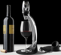 Wholesale 8 Sets/lot Full gift set Magic Wine Decanter,Red Wine Aerator,Wine Essential Equipment,Hopper And Filter In GIFT BOX