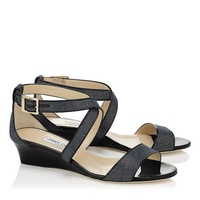 New  JIMMY  2014 Women's  Leather Sandals Woman's Flats Shoes Brand Summer Sexy flat 35-40