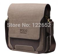 2014 popular genuine leatehr and nylon men messenge bag brand one shoulder bag free shipping B-147