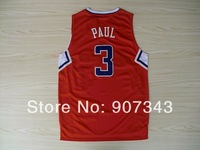 #3 Chris Paul Jersey,New Material Rev 30 Cheap Basketball Jersey Sport Jersey Stitched Logo Embroidery Authentic Jersey