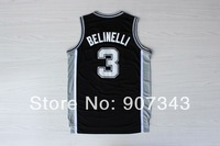 #3 Marco Belinelli Jersey, New Material Rev 30 Cheap Basketball Jersey Sport Jersey Stitched Logo Embroidery Authentic Jersey