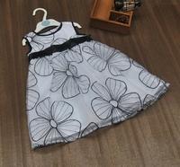 2014 summer kid's Holiday Editions organza Flower Girl Dress princess Ball Gown dress Children's Floral Embedery One-piece Dress