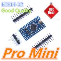 Free Shipping   Pro Mini BTE14-02  ATMEGA328P-AU 5V 16MHz  Good Quality 100% IO tested 10PCS/Lot