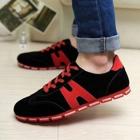 2014 summer men athletic shoes fashion breathable men's running shoes popular lazy male sport shoes