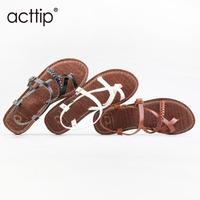 2014 brand design fashion woman cross strap sandals  flip flops  bohemian twist braided  flat sandals Rome summer shoes 3color