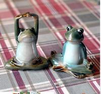 Home decoration decorations wedding cartoon frog monroe souvenir Monroe furnishings creative cute cartoon frog funny