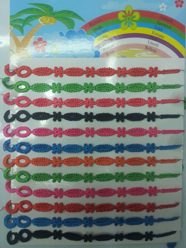 Free shipping ! Bracelet, Italian fashion lace color more wholesale(China (Mainland))