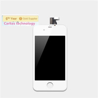 Hot Selling!Top Quality 100% Tested For iPhone 4 4G  Lcd Touch Screen Digitizer Assembly With Frame White color