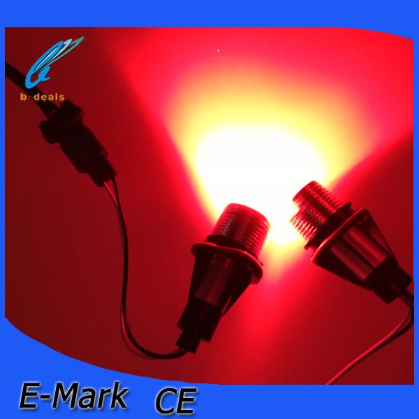 High brightness 3W red led angel eyes for E39 01-03/E87 04-06/E53 04-06/E60 04-07(China (Mainland))