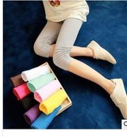 2014 summer maternity knee length ruffle trousers belly pants maternity legging maternity legging