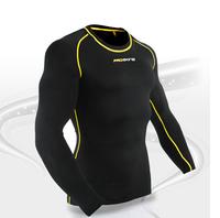 Free shipping!Pro skins design running suit jogging suit straitest compression clothing elastic clothing marathon
