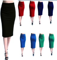 Summer New Womens bodycon OL Wear to Work Career Business Pencil Skirts S M L XL XXL