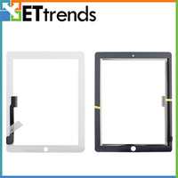 Replacement Touch Screen Digitizer Glass For iPad 3 / 4 - White & Black