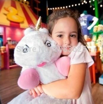 45 см гадкий я единорог очень большой фильм плюшевые игрушки миньоны плюшевые животные классические игрушки подарок на день рождения куклы для девочек детей