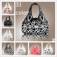 New Women's Faux Leather Tote Bag Printing Handbag Hobo Bag Shoulder Handbag
