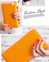 2014 new designer brand wallets card holder coin case women long purses case iphone clutch wallet/purse women handbagWFCCL01243