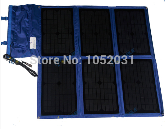 Portable Solar Charger Bag 60W for Laptop 18V/3.33A Waterproof(China (Mainland))