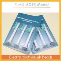 Free ship High Quality 300pcs/lot(100packs) sonicare toothbrush hx6013 head or P-HX-6013 model